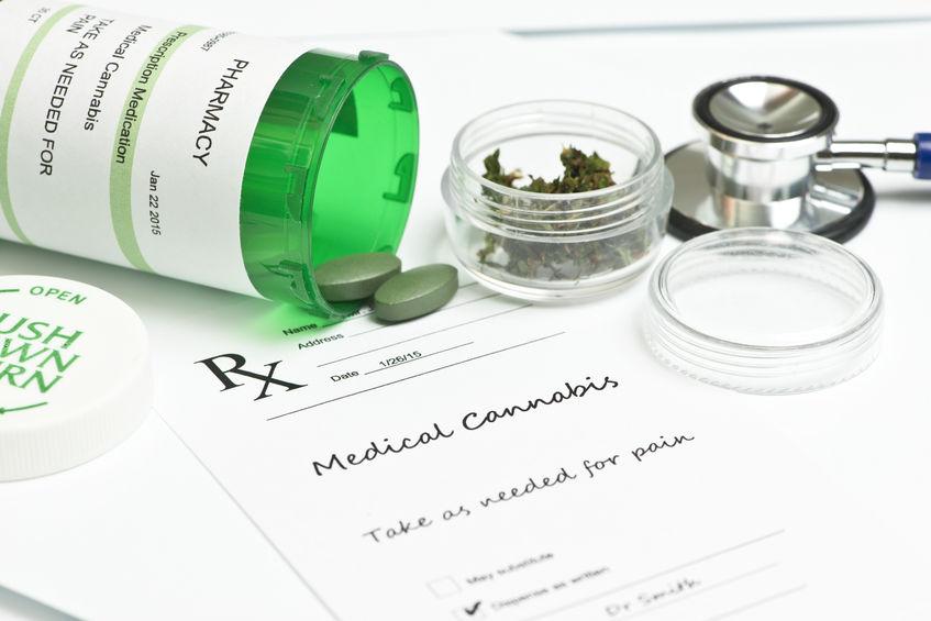 Medizinisches Marihuana mit Rezept